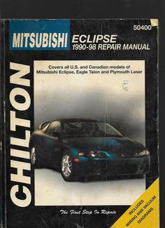 Chiltons ford pick ups 1997 03 expedition navigator 1997 12 chilton books repair manual 1990 98 mitsubishi eclipse 50400 fandeluxe Image collections
