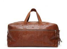 Adax Chicago weekend bag cognac | Weekender bag, Vesker