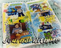 Art Journal With Me in My Traveler's Notebook - Week 5 of 2017 http://www.sillymimi.com/art-journal-with-me-in-my-travelers-notebook-week-5-of-2017/