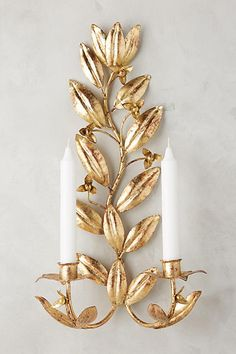 Clarisa Candle Sconce