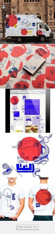 Delectaballs Food Truck Branding by Black Squid Design | Fivestar Branding – Design and Branding Agency & Inspiration Gallery