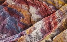 More painted desert. Had to pin this one - the mountains really look like this from the diversity of minerals in the soil. Incredible.