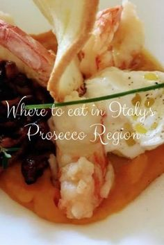 Just one hour from Venice by train. Here's where to eat in the Prosecco region of Italy including Michelin star, picnic spots, fresh pizza, pasta and more. Picnic Spot, Regions Of Italy, Tasty, Yummy Food, Served Up, Prosecco, Italy Travel, Michelin Star, Italian Recipes