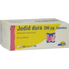 JODID dura 200 -m63g Tabletten:   Packungsinhalt: 100 St Tabletten PZN: 03943676 Hersteller: Mylan dura GmbH Preis: 3,60 EUR inkl. 19 %…