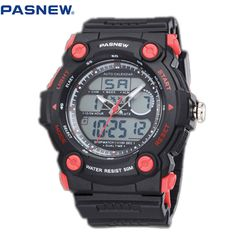Pasnew children Sports Watches Waterproof Fashion Quartz Watch Digital Analog Military Multifunctional boy's Sports Watches