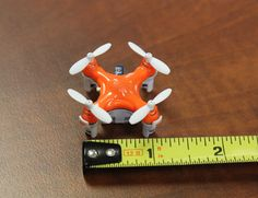 """""""The NEW World's Smallest #Quadcopter Ultra-Compact 2.4 gHz Controller with #Drone Storage/Transport Compartment."""""""