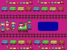 Promethean Board Attendance Train