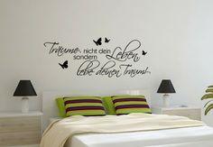 Wandtattoo - Träume nicht dein Leben... Home Decor, Ad Home, Life, Gifts, Nice Asses, Decoration Home, Room Decor, Home Interior Design, Home Decoration