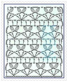 GRAFICOS=PATRONES=CROCHET =TRICOT = DOS AGUJAS: febrero 2011