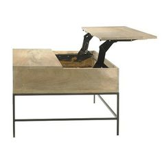 Rustic Storage Coffee Table