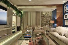 Salas de TV – veja 30 modelos lindos e dicas decoração!