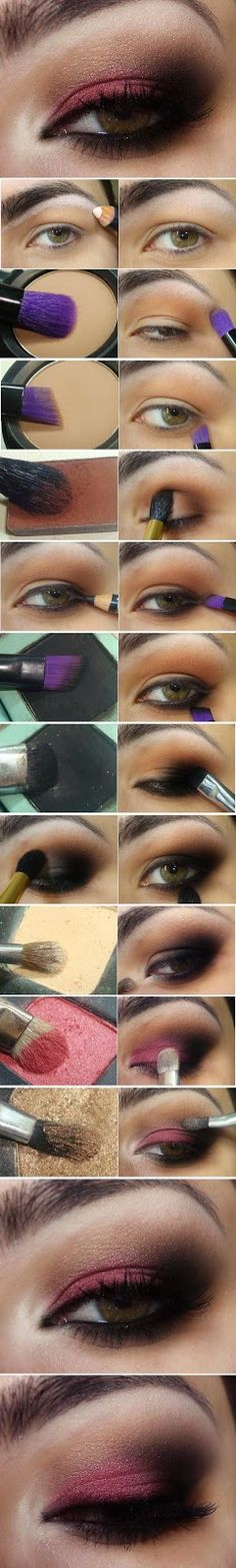 How to : Sexy Red Eyes Makeup Tutorials / Best LoLus Makeup Fashion