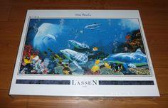 Art of Lassen Ocean Paradise Jigsaw Puzzle