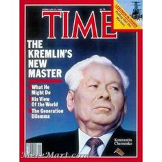 Buy Time Magazine February 20 1984 Filling a Vacuum Again Yuri Andropov 1914 - we suppose Meremart has any Valentine's Day or any Thank-You present for you . a lot of exciting magazines are for you and special ones only at Meremart Time Feb Thank You Presents, Time Magazine, Magazine Covers, Newspaper Headlines, Vintage Magazines, Teaching Materials, Soviet Union, World History, Views Album
