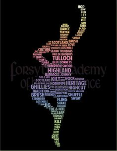 A highland dancer's vocabulary. Where would I be without highland dance?