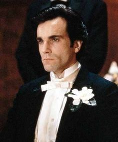 "Newland Archer, (actor: Daniel Day Lewis). Performing in the c.1993 movie, ""The Age of Innocence"". Based on Pulitzer Prize winning American author, Edith Wharton's, c.1920 novel. Both Wharton's novel, and the film adaptation, depicts high society life in NYC, c.1870s, during America's Gilded Age. ~ {cwlyons} ~ (Original image via: Esquire Magazine)"