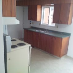Ideas for Rental Kitchen....cabinets and layout.