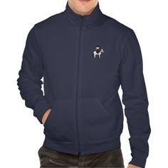 Girl riding a horse cartoon jacket