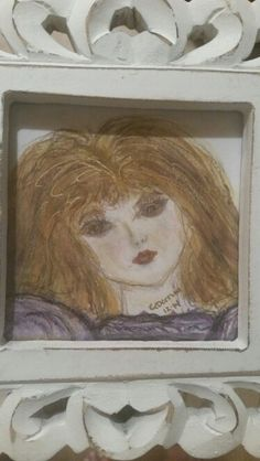 Water color -  I used Caran D'ache museum pencils ---The best