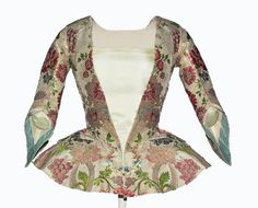 Jacket, ca. 1735-1740, Andalucía, metal, linen, hemp, silk: Casaca, 1735[ca]-1740[ca], Andalucía, metal, lino, cáñamo, seda