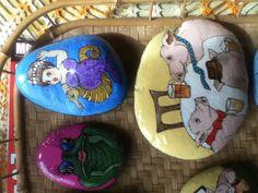 Painted rocks. 3/25/2013