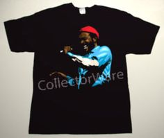 MARVIN GAYE drawing 3 CUSTOM ART UNIQUE T-SHIRT   Each T-shirt is individually hand-painted, a true and unique work of art indeed!  To order this, or design your own custom T-shirt, please contact us at info@collectorware.com, or visit to http://www.collectorware.com/tees-marvin_gaye.htm