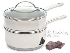 Double Boiler 2 Quart Polished Stainless Steel - http://cookware.everythingreviews.net/12243/double-boiler-2-quart-polished-stainless-steel.html