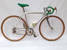 CUSTOM BICYCLE COLNAGO MASTER 49.5 CAMPAGNOLO SUPER RECORD 30TH ORO GOLD