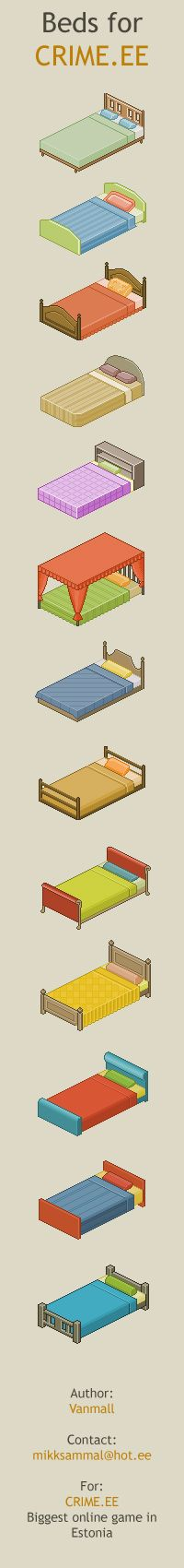 Beds for Crime.ee by vanmall.deviantart.com on @deviantART