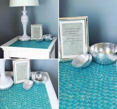 1.-Restaura tu mesa       Compra piedritas de esas que venden para las peceras o los floreros de tu color favorito (si eres del D.F, puedes...