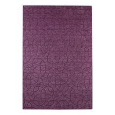 Rizzy Home UP2454 Uptown Area Rug, Plum - Area Rug Universe