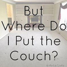But Where Do I Put the Couch? - Mad in Crafts