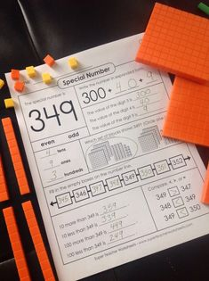 Learn all about place value, counting, and number values with this special number worksheet!