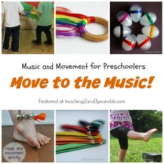 10+ fun songs that get toddlers and preschoolers moving to music!