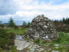 Cairn by the Kintyre Way track, south of Tarbert, Argyll