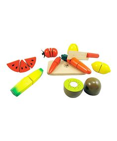 Take a look at this Fruit & Veggie Cutting Set by DIY KIDS on #zulily today!