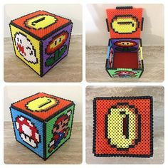 Mario piggy bank hama beads by enfrikarte