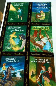 Nancy Drew Sleuth: Nancy Drew Fabric Preview (Moda fabrics)