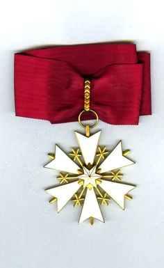 Order of the White Star Commander neck badge  in fitted case of - Estonia