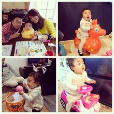 Instagram media yyyyukariiii - #1歳 #誕生日#ロディ#アンパンマン太鼓#ミニー車#プレゼント