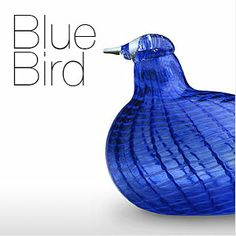 Birds by Oiva Toikka Yves Klein Blue, Glass Birds, Blue Bird, Finland, Royal Blue, Craft Projects, Blue And White, Crafts, Manualidades