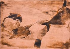 Orca Copper, Prints, Painting, Art, Art Background, Painting Art, Kunst, Paintings, Brass