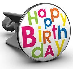 Waschbecken-Stöpsel Happy Birthday