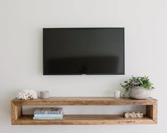 Your place to buy and sell all things handmade - Wall unitwall cabinettv consolemedia unitmedia Tv Cabinet Design, Tv Wall Design, Living Room Tv, Home And Living, Tv On Wall Ideas Living Room, Tv Wall Cabinets, Tv Wall Shelves, Shelves Under Tv, Wall Tv