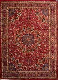 Persian Carpet Mashhad design
