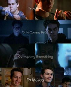 True evil only comes from corrupting something truly good. #teenwolf