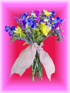 Occasions Florist  Murphy NC  Wildflower bouquet   Great for summer wedding