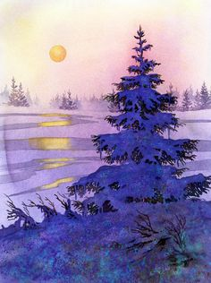 Sunset Solitaire Painting - Sunset Solitaire Fine Art Print