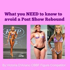 Angel Competition Bikinis, NPC Competition Bikini, Custom Bikini, | What you NEED to know to avoid a Post Show Rebound