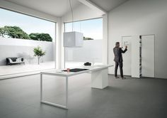 Minimal Kitchen / SapienStone #GranitiFiandre @terzopiano